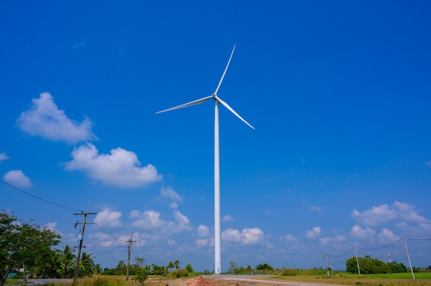 Energia de turbina eólica tailândia