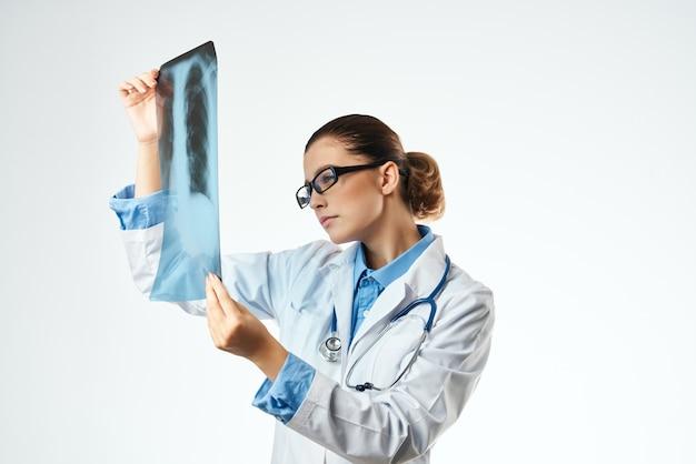 Enfermeira exame profissional trabalho hospitalar