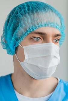 Enfermeiro de retrato
