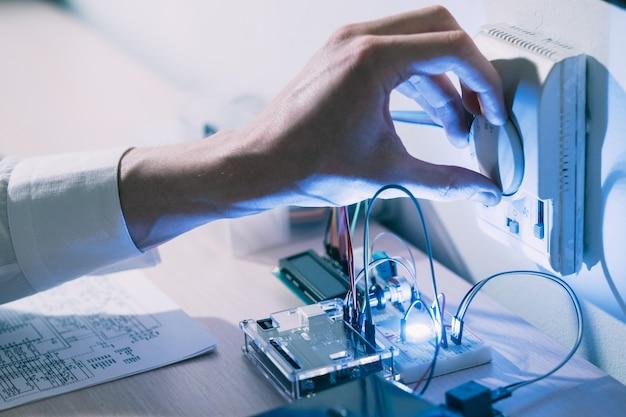 Engenharia de tecnologia de casa inteligente