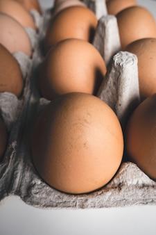 Engradado de ovos
