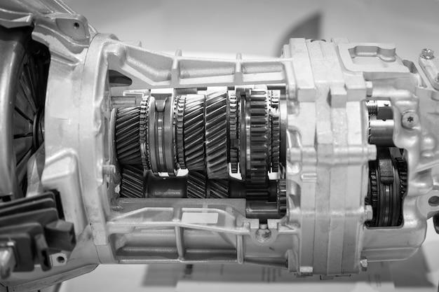 Engrenagem, parte do motor do carro.