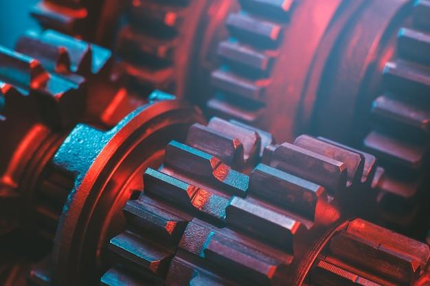 Engrenagens. cog. parte da máquina.