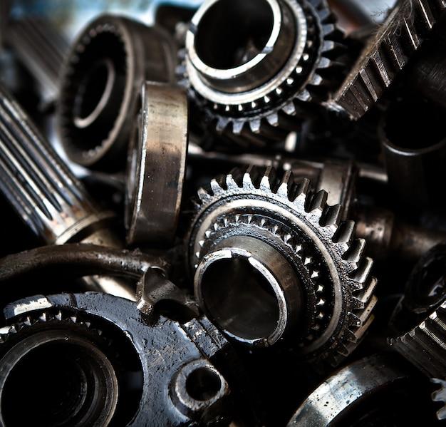 Engrenagens de metal para carros antigos