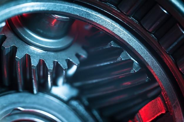Engrenagens. parte da máquina.