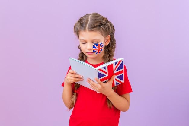 Ensinando inglês. estudo de línguas estrangeiras e sua tradução.