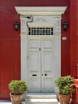 Entrada, de, um, casa, valparaiso, chile