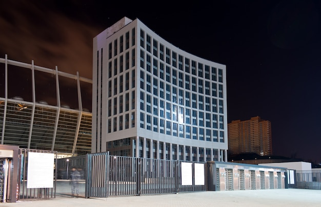 Entrada do estádio olympiyskiy de kiev
