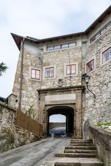 Entrada para o mosteiro dos capuchinhos de salzburgo