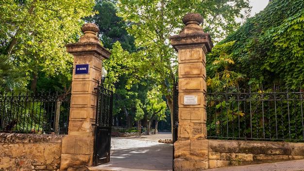 Entrada para o parque glorieta