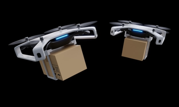 Entrega de drones