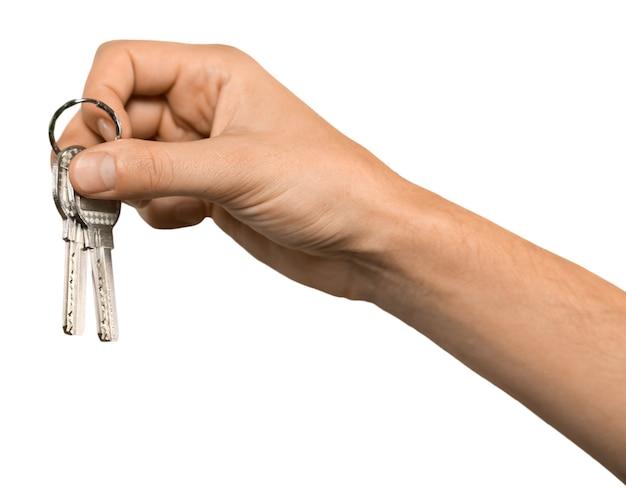 Entregando as chaves