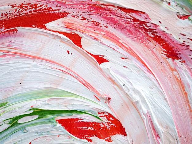 Entregue a pintura a óleo colorida da pintura as multi abstraem o fundo e a textura.