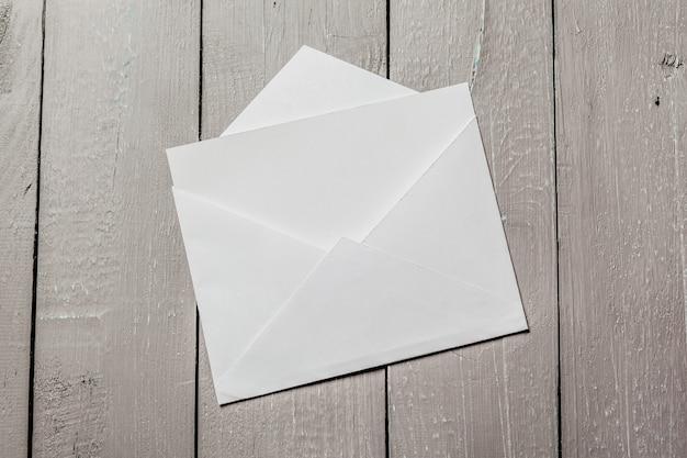 Envelopes em branco