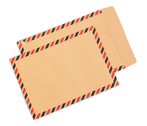 Envelopes marrons