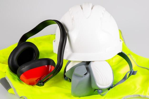 Equipamento de construção de segurança para instalação plana padrão