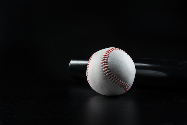 Equipamento de jogo de beisebol close-up