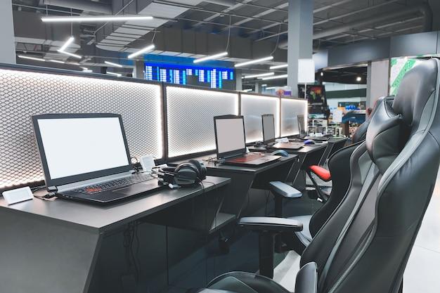 Equipamento de jogo profissional para a loja de tecnologia. compra de equipamentos de jogos para esportes cibernéticos.