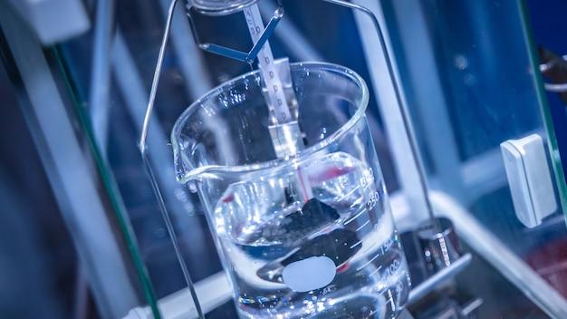Equipamento de laboratório de copo