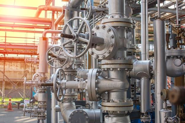 Equipamento de planta de refinaria para válvulas de óleo e gás de tubulação em válvula de segurança de pressão de planta de gás seletiva