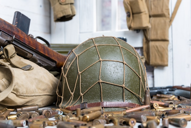 Equipamento militar dos eua e armas da segunda guerra mundial