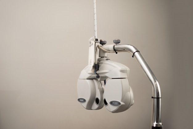 Equipamento oftalmológico phoropter