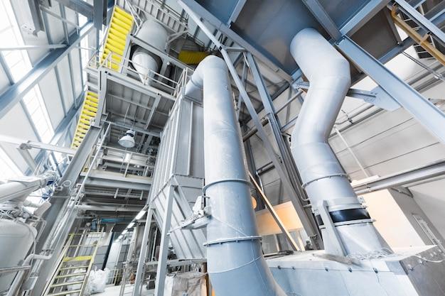 Equipamento para indústria de produção de fibra de vidro na fabricação