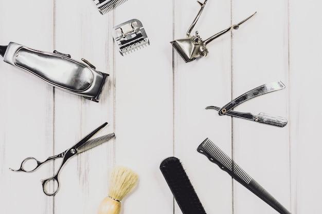 Equipamento profissional para corte de cabelo