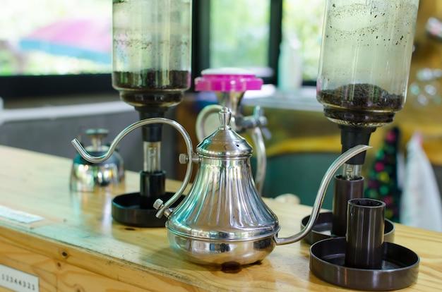 Equipamentos de café antigo