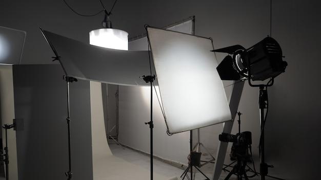Equipamentos de luz de estúdio para foto ou filme de vídeo conjunto de luz para estúdio de fotografia profissional