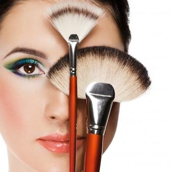 Equipamentos de maquiagem