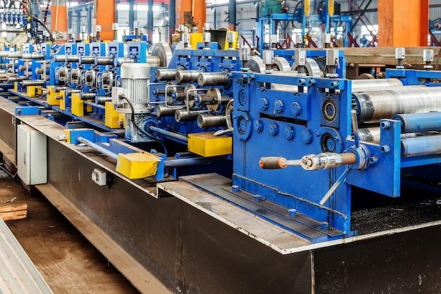 Equipamentos de moldagem de fábrica de aço