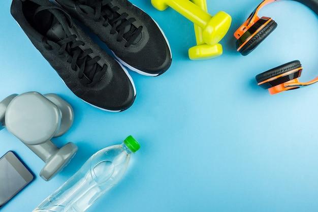 Equipamentos esportivos para fitness