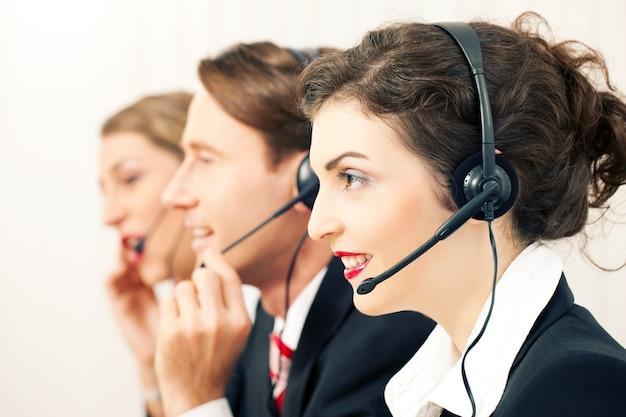 Equipe de call center