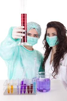 Equipe de cientistas