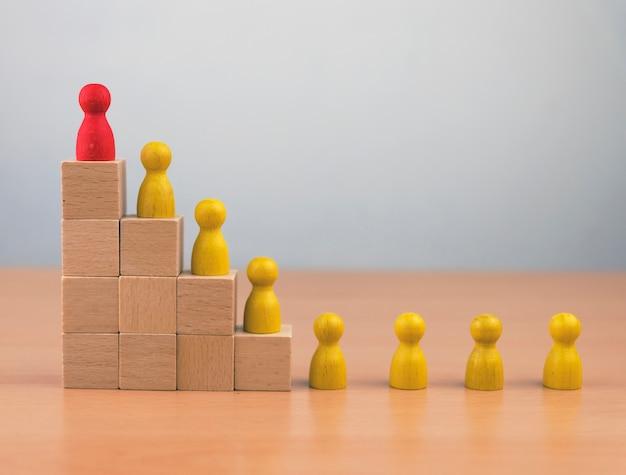 Equipe de criação de negócios em recrutamento e gestão de recursos humanos e talentos, desenvolvimento pessoal de funcionários em organização