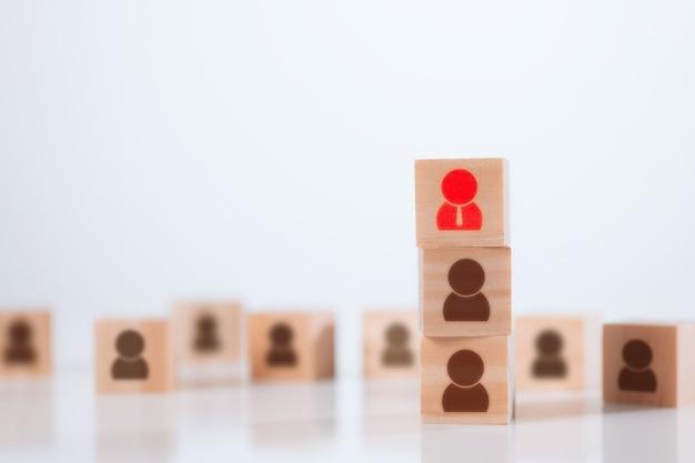 Equipe de desenvolvimento de negócios para gestão de recursos humanos e funcionários de recrutamento