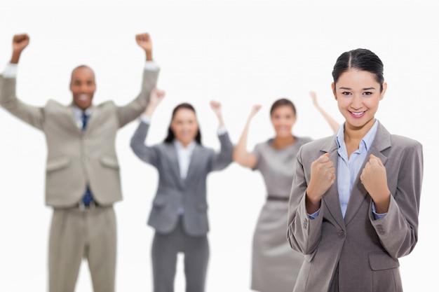 Equipe de negócios bem sucedida