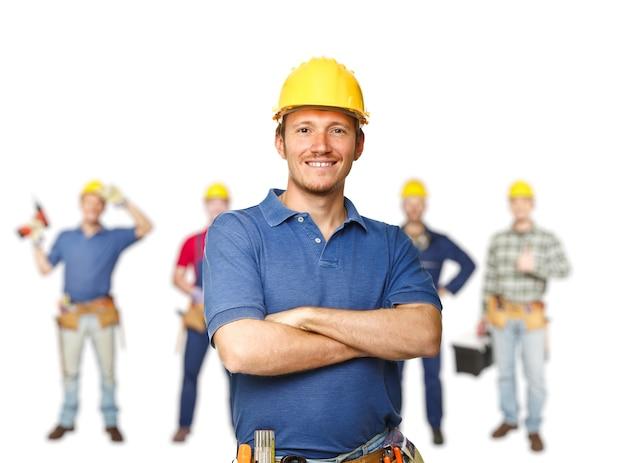 Equipe de trabalhadores