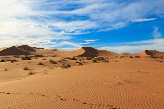 Erg chebbi em marrocos