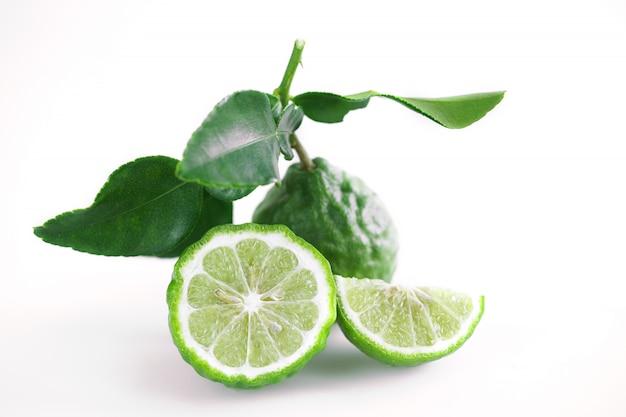 Erva tailandesa de bergamota para tratamento de spa e cabelo para problemas de perda de cabelo