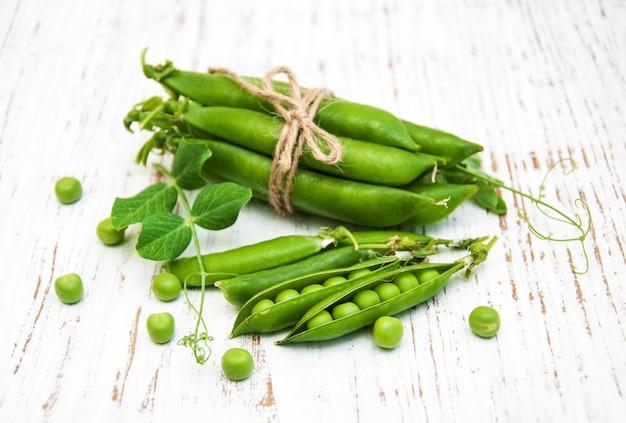 Ervilhas frescas verdes