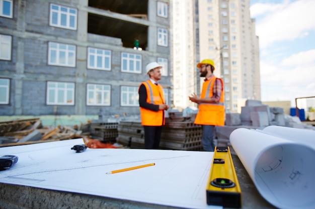 Esboço de nova construção
