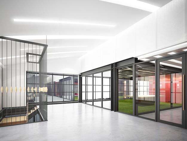 Esboço do projeto do salão interior