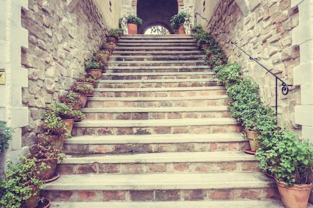 Escada de concreto