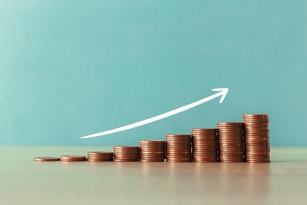 Escada de moedas