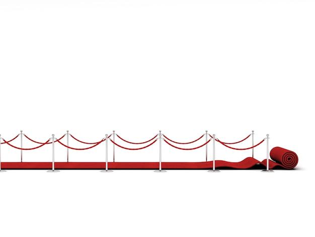 Escada do tapete vermelho