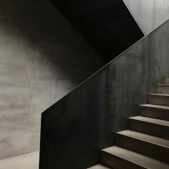 Escada em edifício moderno