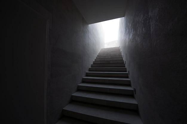 Escada para o telhado