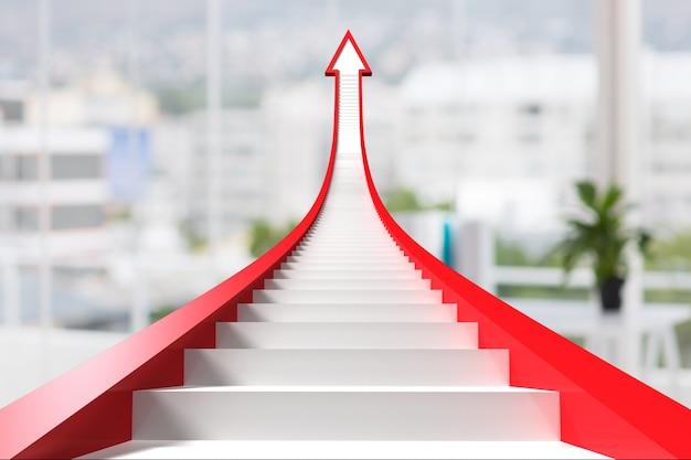 Escadaria em forma de gráfico
